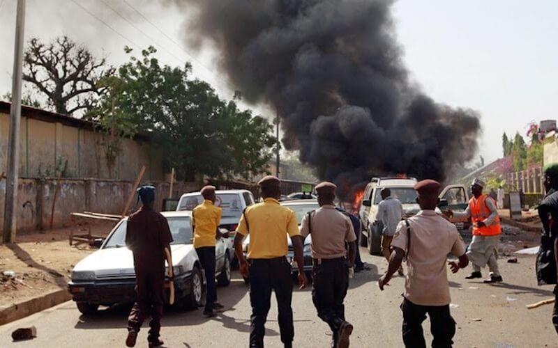 Suicide bomber kills seven in early morning mosque attack in Borno