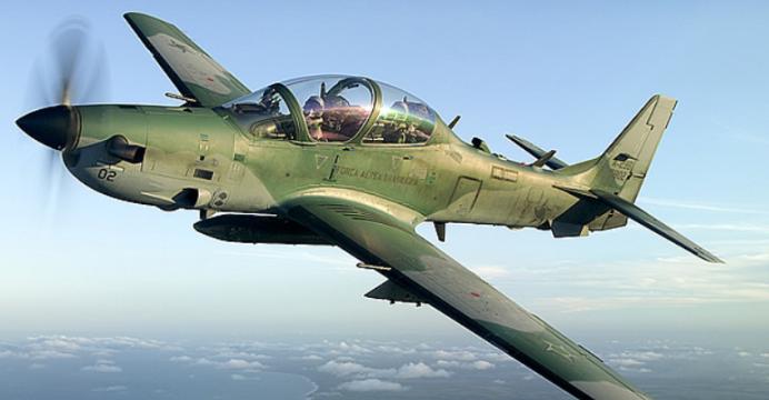 U.S. assures Super Tucano Aircraft for Nigeria underway