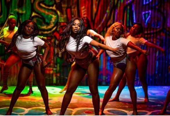 'Tiwa Savage's Vibe' trends on You Tube