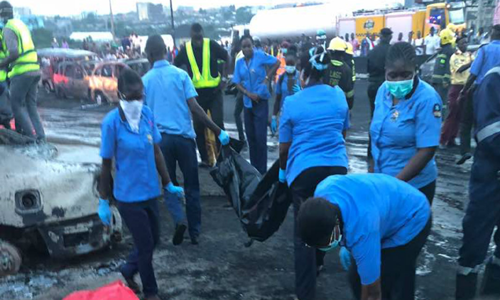 Death toll in deadly Lagos tanker fire rises to 12