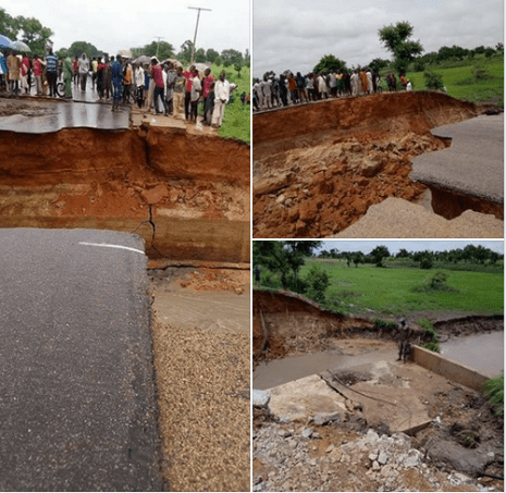 Travellers ply bush path as four bridges collapse in Taraba