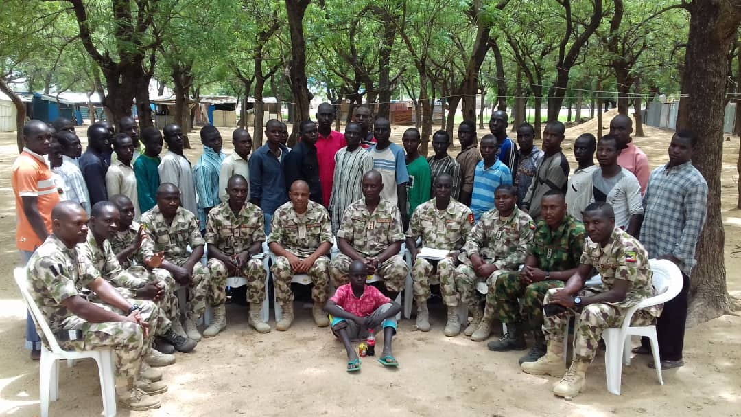 Boko Haram terrorists surrender to troops in Borno