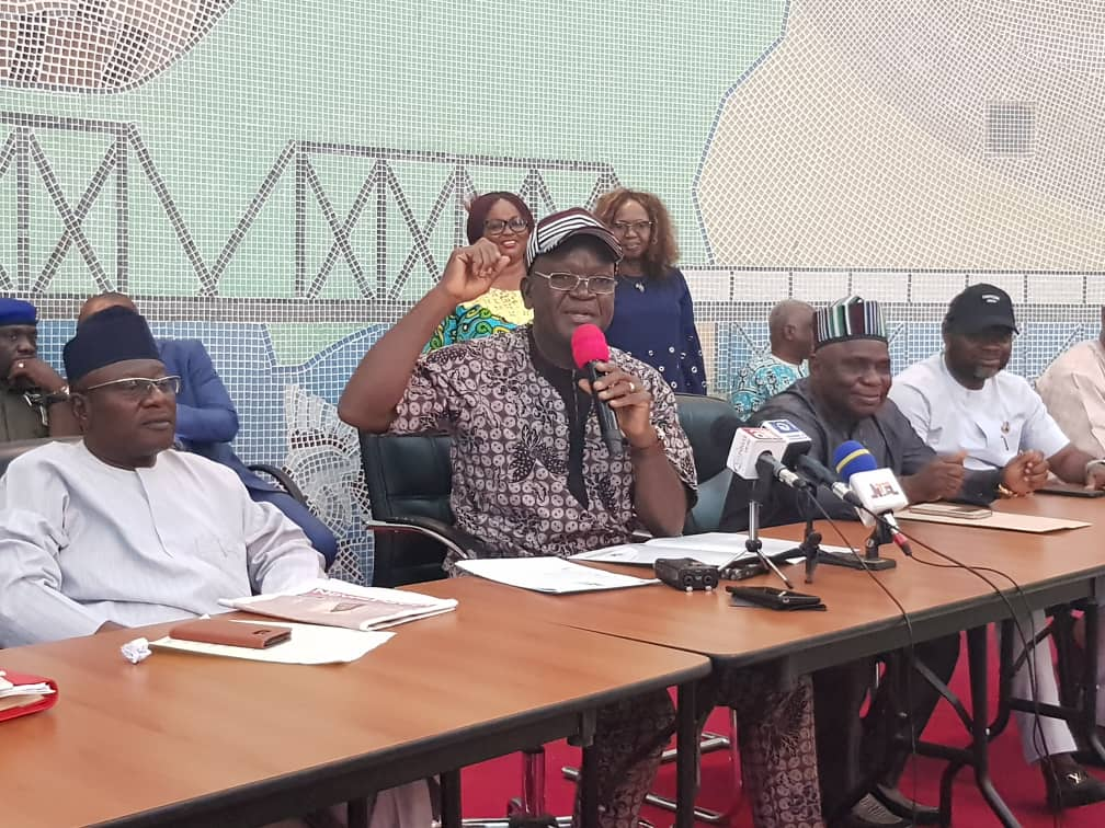 Governor Ortom of Benue defects from APC to PDP