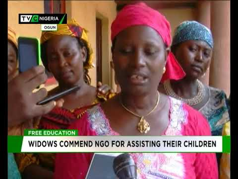 Widows commend NGO for assisting their children