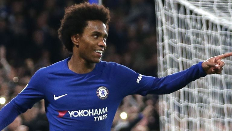 Barcelona table third bid for Chelsea winger, Willian