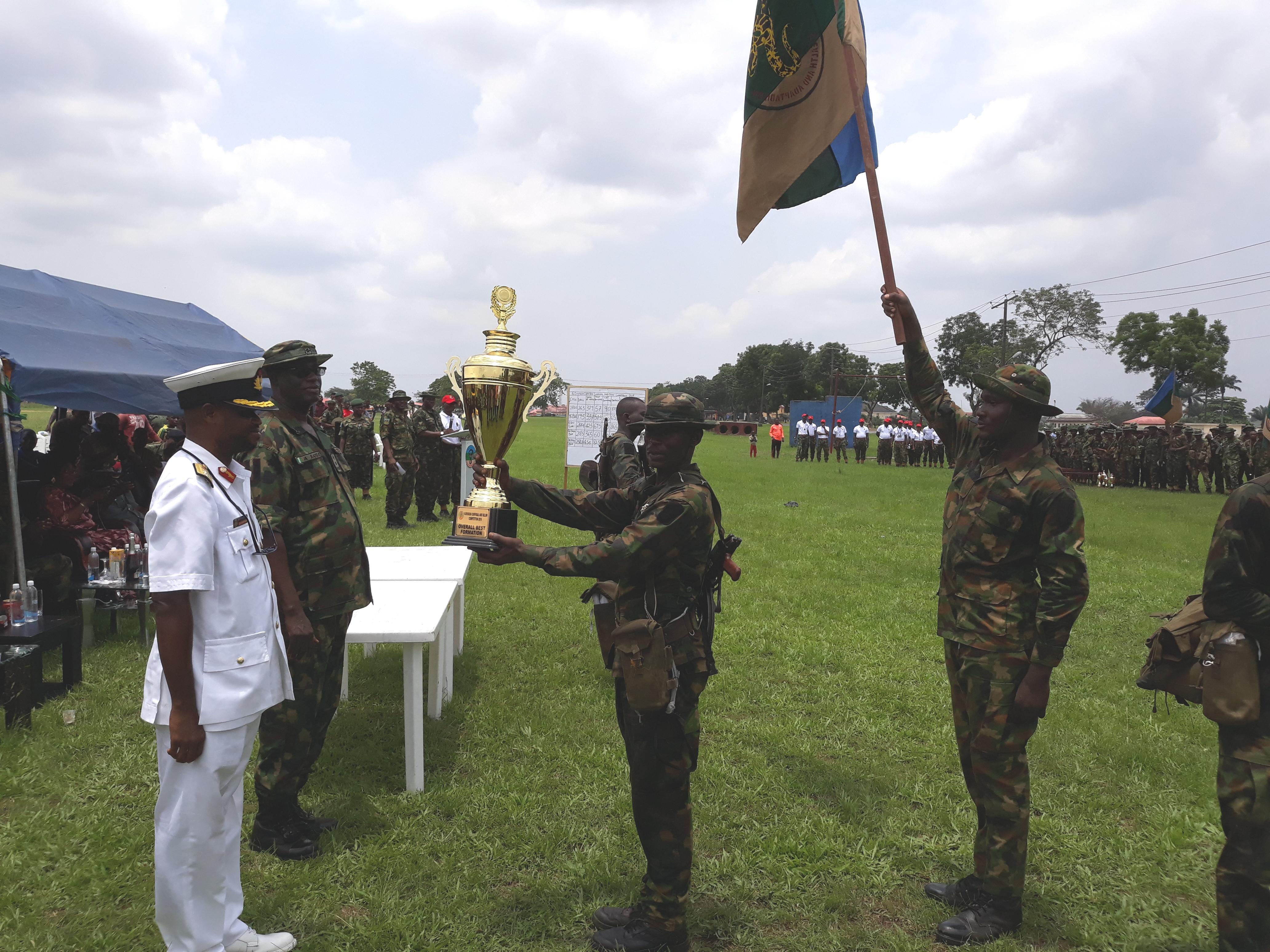 Rivers, Bayelsa win big at 6 Division Inter-Brigade competition