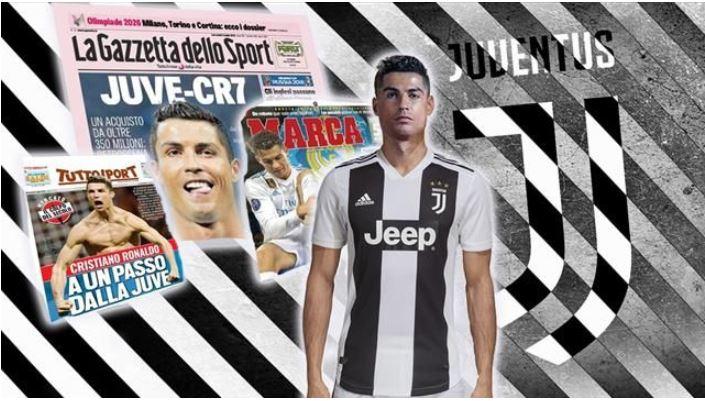 Cristiano Ronaldo reportedly agrees $88m shock Juventus Move