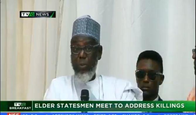 Elder statesmen meet to tackle killings around Nigeria