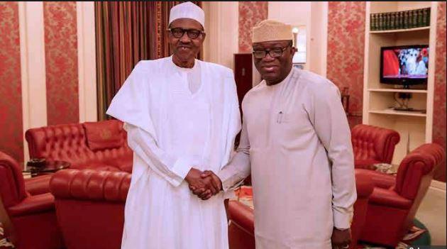 President Buhari congratulates Governor-elect Fayemi of Ekiti state