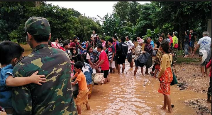19 dead, 3,000 others in need of rescue, after Laos dam collapse
