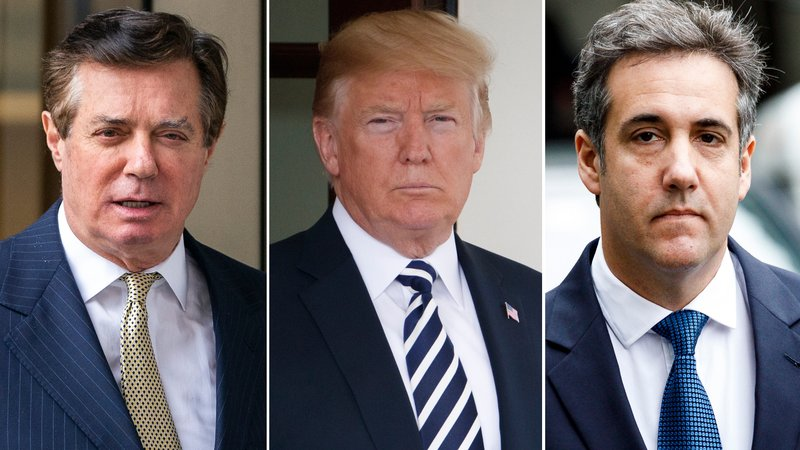 Trump, White House deny wrongdoing after Cohen plea deal