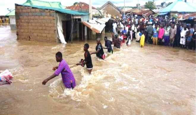 Torrential rainfall claims one life, destroys over 40 houses in Kano