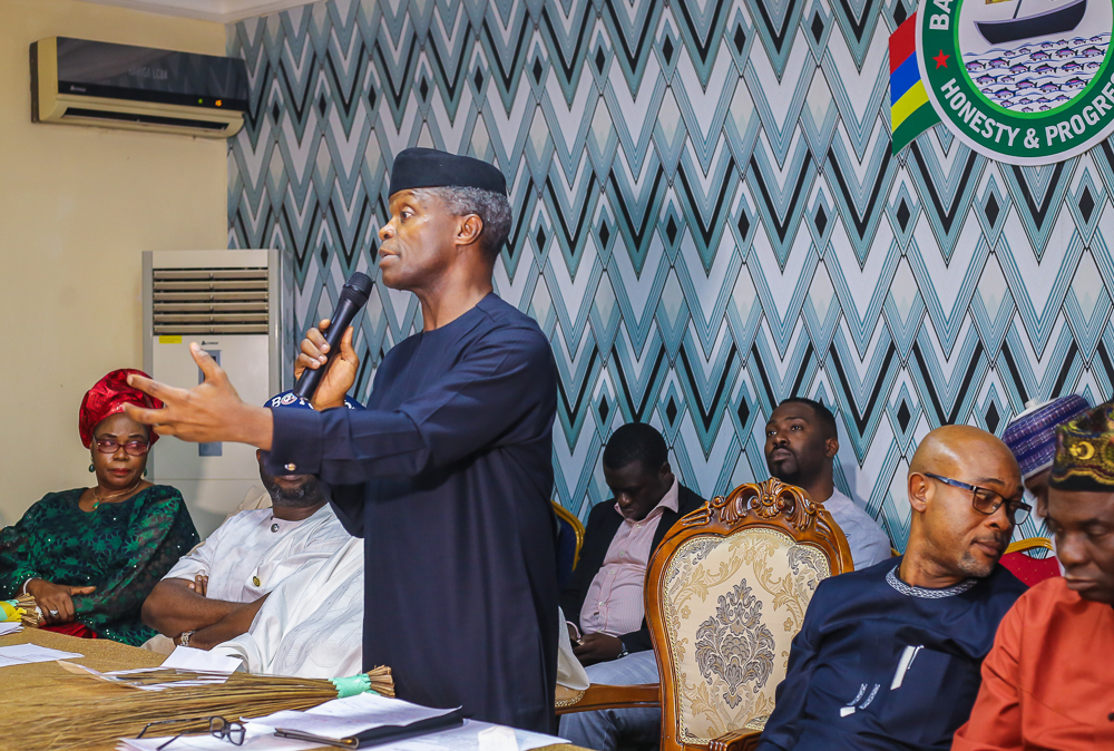 Osinbajo visits Lagos, says APC remains strong despite gale of defection