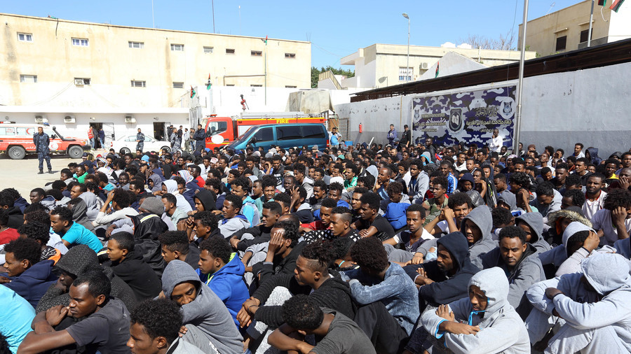 Hundreds of migrants trapped in detention centers in Libyan capital after clashes
