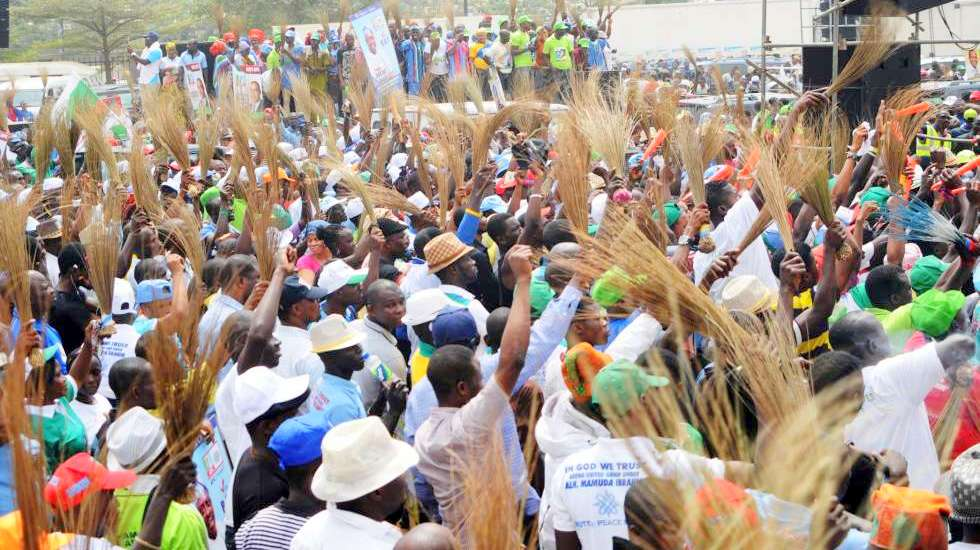 Gombe APC members rally in support of Buhari's reelection bid
