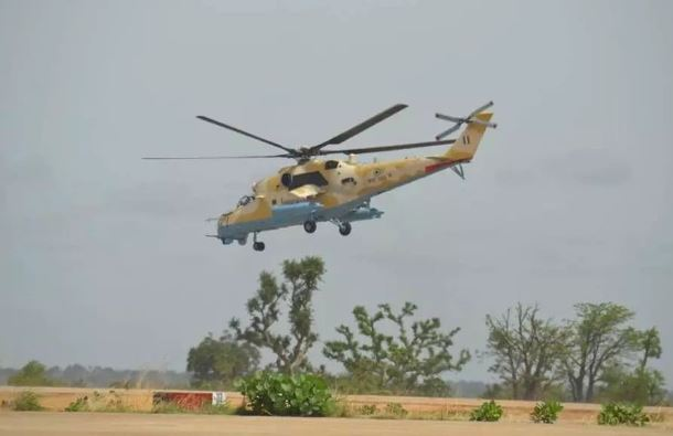Air Force neutralises bandits at Bayan Ruwa, Rugu forest