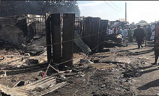 Traders cry for help as fire destroys 21 shops at Baga fish market