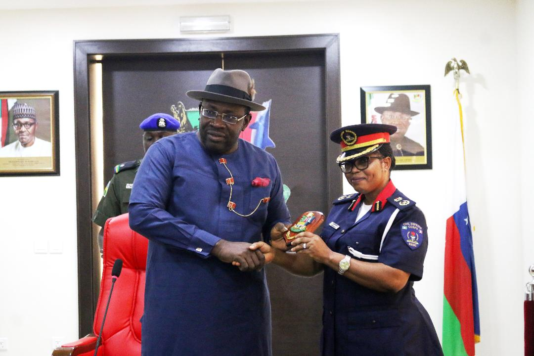 Bayelsa governor charges new NSCDC boss on professionalism