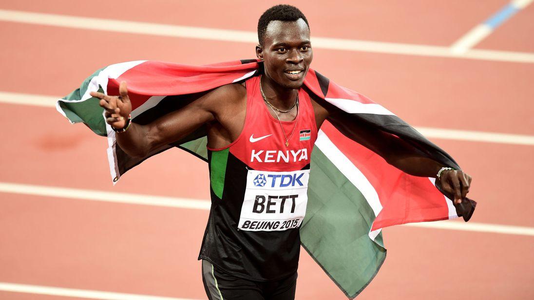 Kenyan hurdler Nicholas Bett dies at 28
