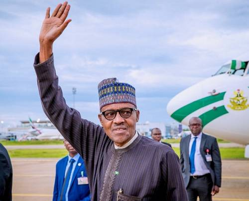Buhari returns to Nigeria after 10-day vacation in UK