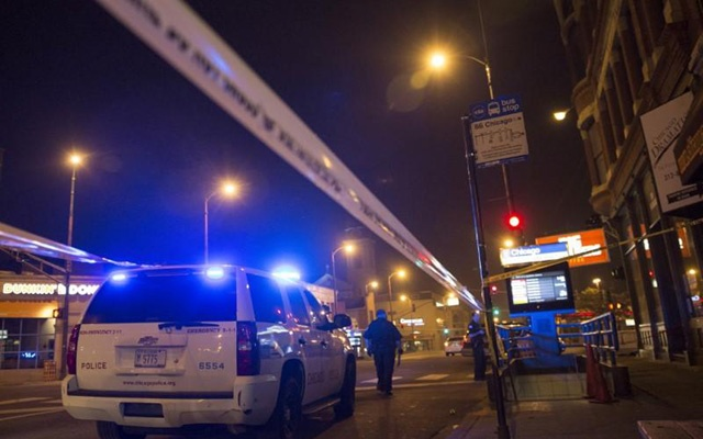 At least 40 shot and four killed in a night of Chicago gun violence