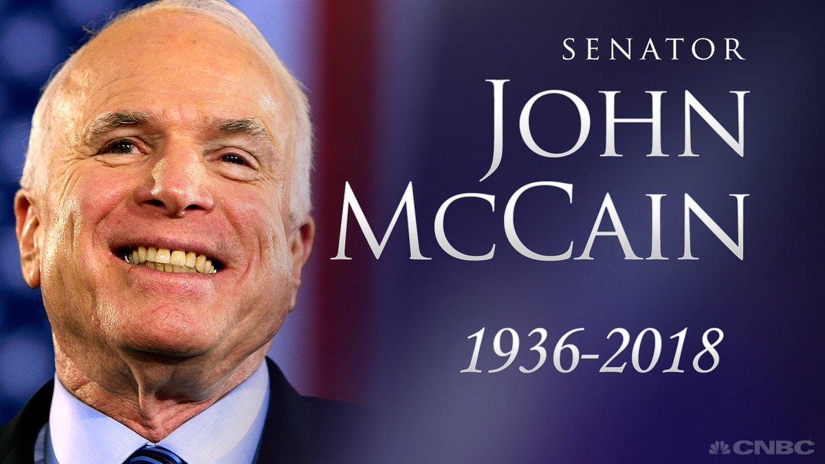 John McCain, ex-POW and 'maverick Republican', dies at 81