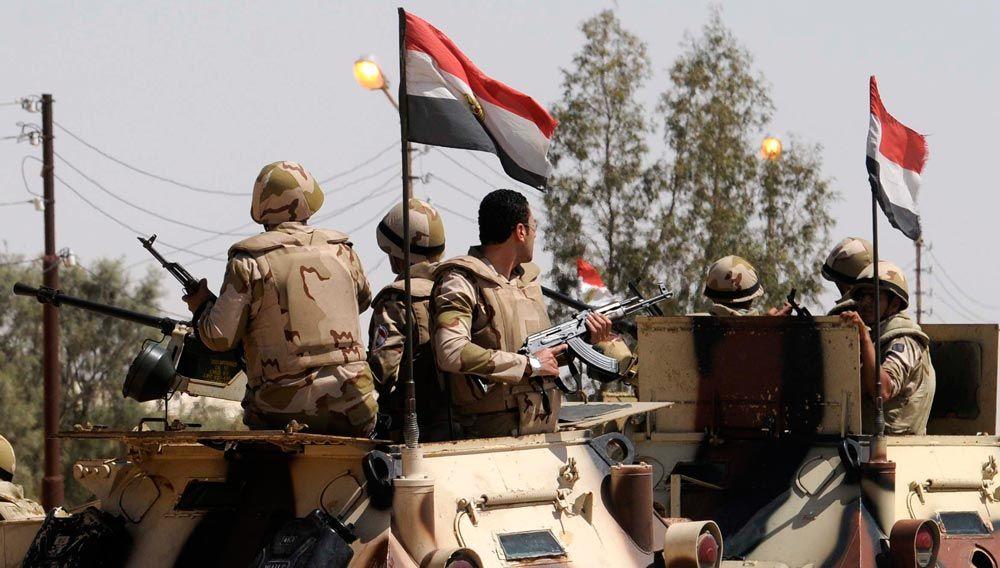 Egypt says 20 suspected militants killed in western desert, Sinai