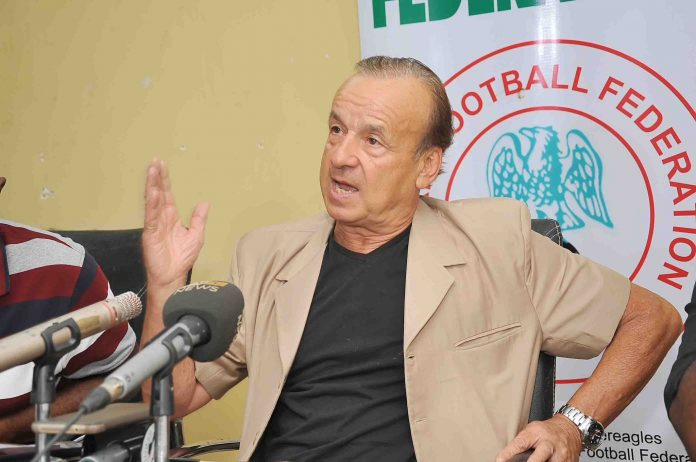 Rohr calls for permanent stadium for Super Eagles