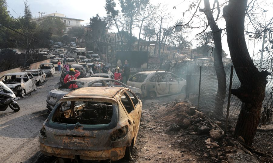 Greece announces names of 93 victims killed in inferno