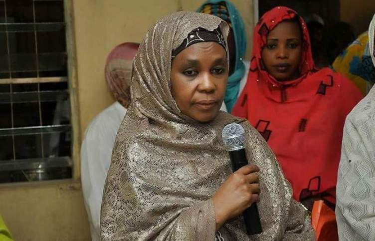 Kano governor's wife canvasses support for Buhari