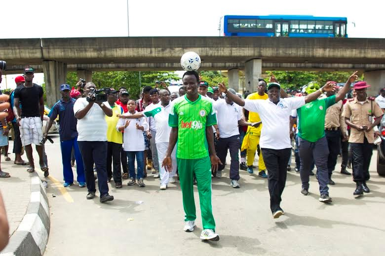 Nigerian Guinness world record holder attempts to set new records