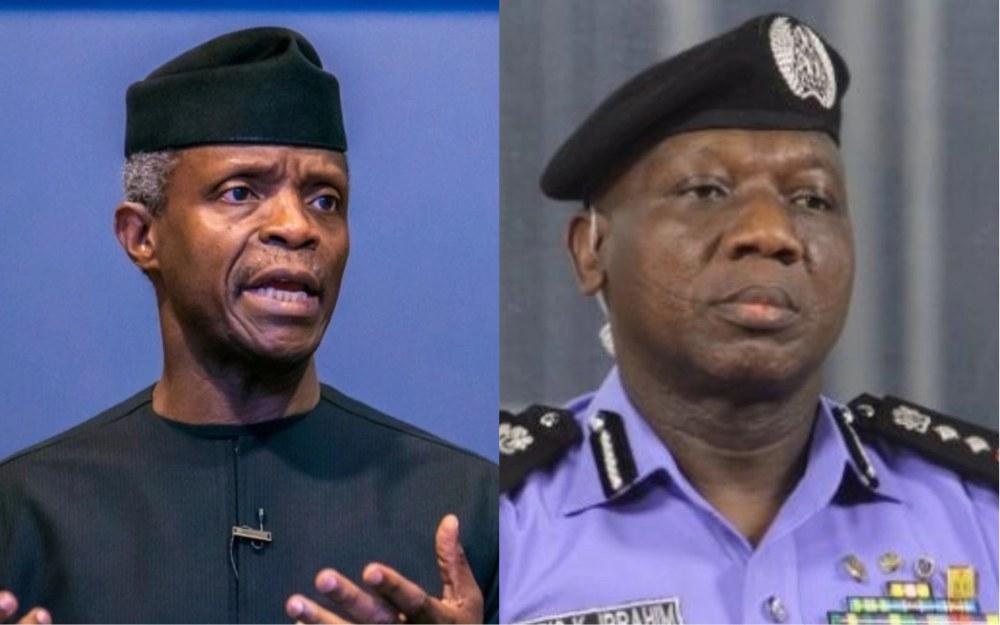 Acting President, Yemi Osinbajo orders immediate overhaul of SARS