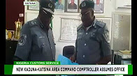 New Kaduna-Katsina area command Comptroller assumes office