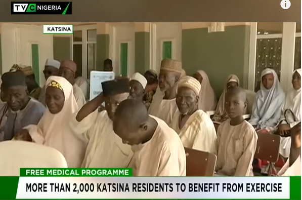 More than 2,000 Katsina residents to benefit from free medical outreach