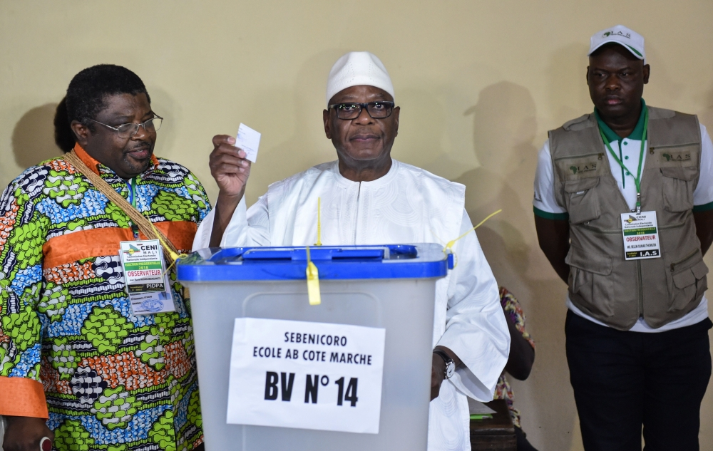 73-year-old Keïta re-elected as Malian president