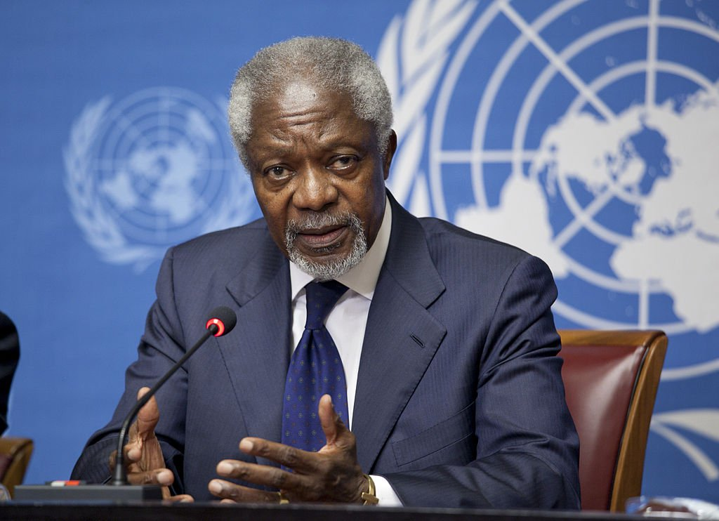 Former UN Secretary-General, Kofi Annan, dies at 80