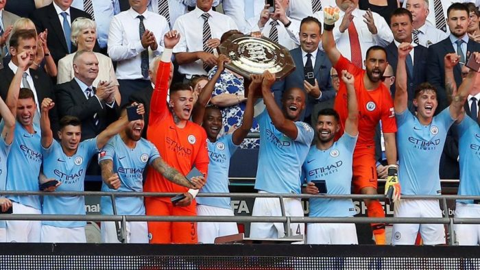 Man City beat Chelsea to win 5th Community Shield