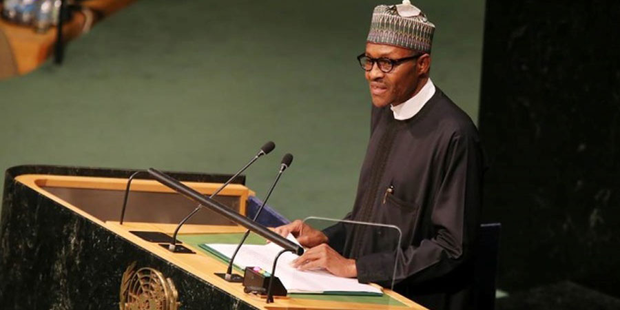 Buhari to address U.N. General Assembly Sept. 25