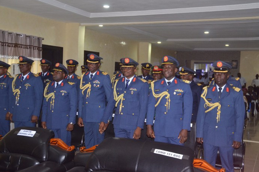 NAF chief rewards gallant Officers and Airmen