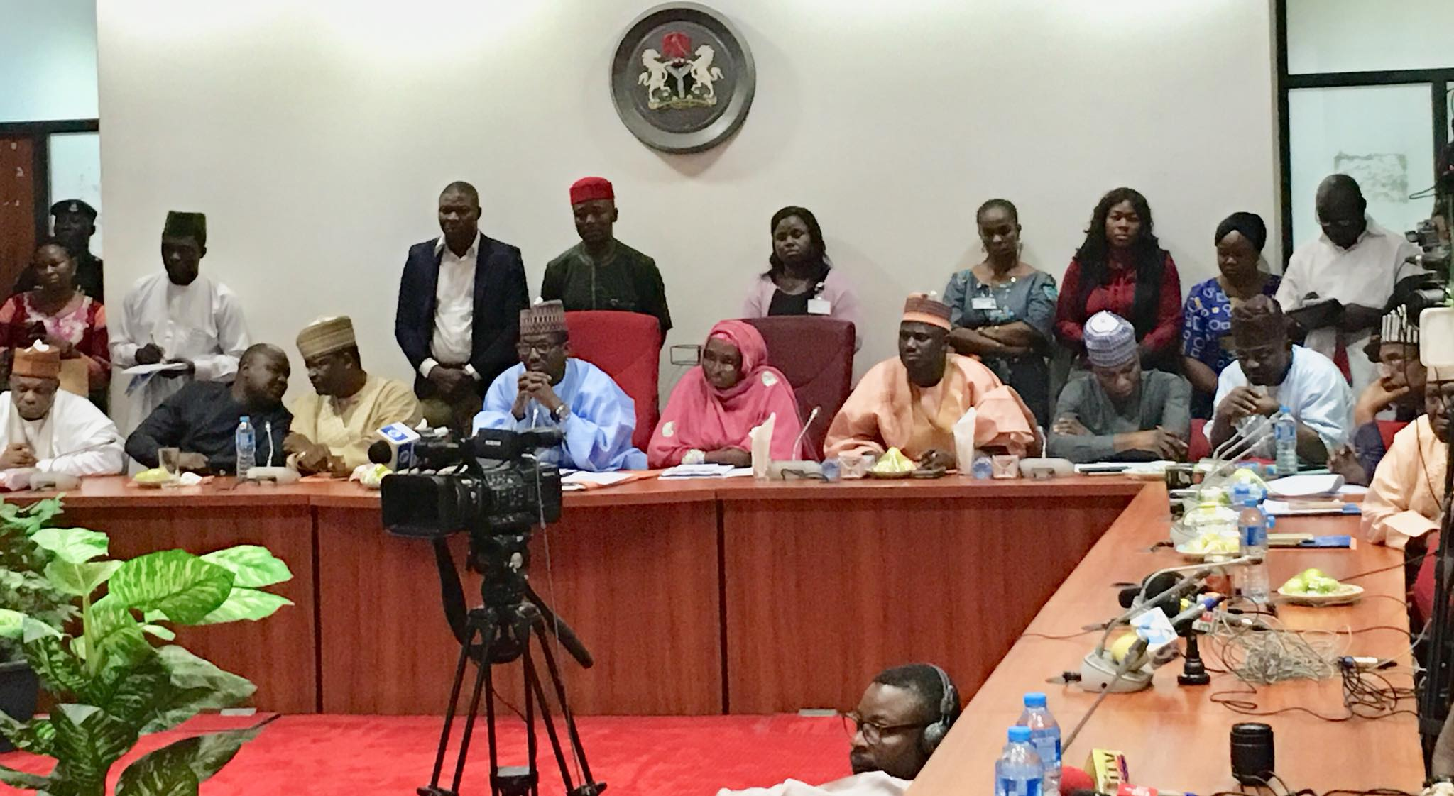 NASS Joint Cttee on electoral matters meet INEC