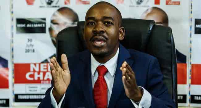 Zimbabwe's presidential poll lacks credibility, legitimacy – Chamisa