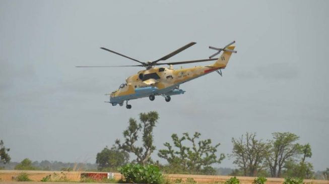 Airforce launches special operation against bandits
