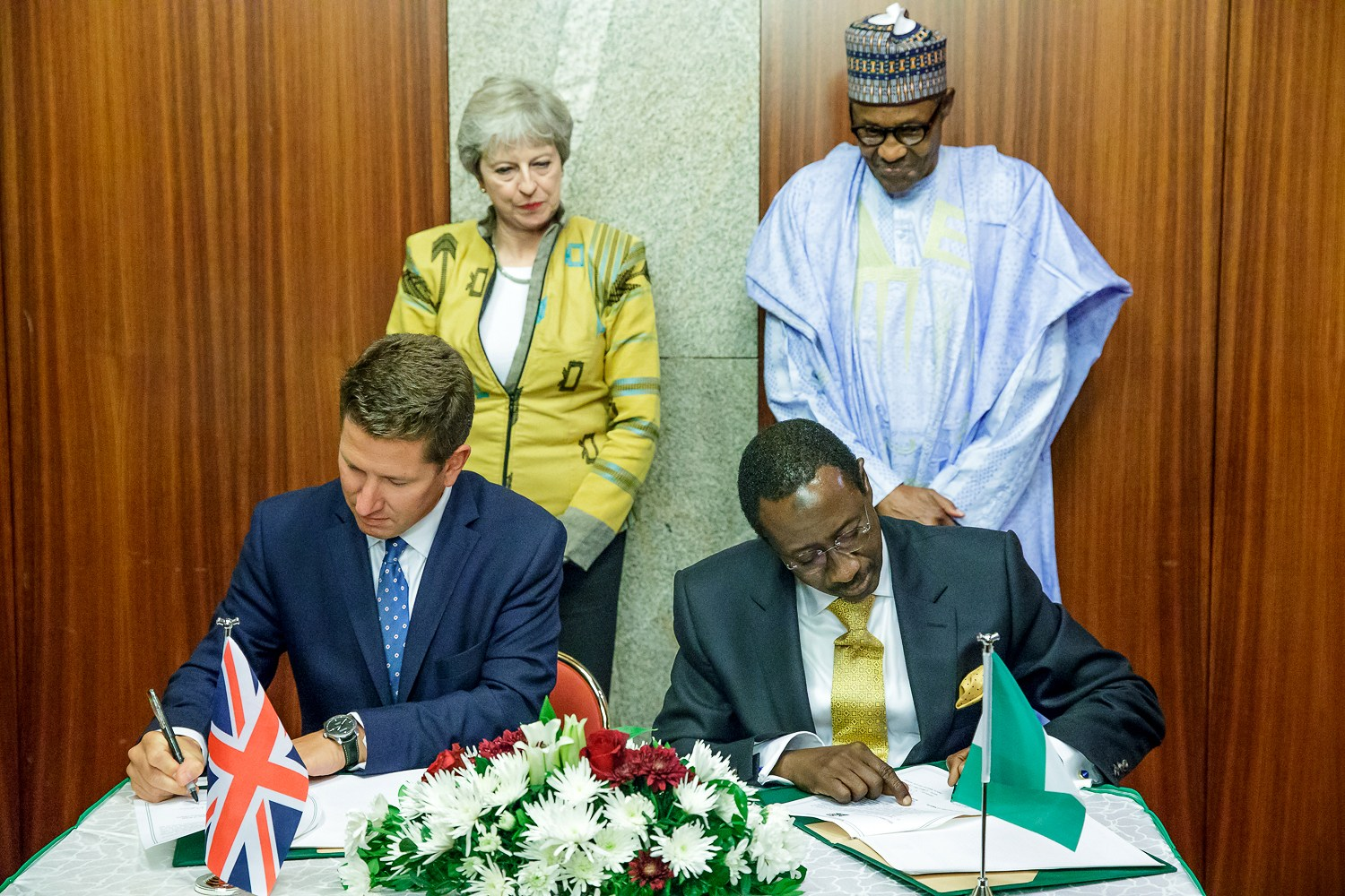Nigeria, UK sign agreements on Security, Economic devt