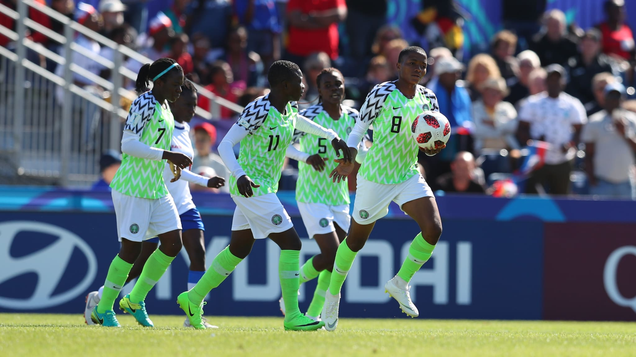 Nigeria Falconets beat Haiti 1-0 in 2nd under-20 FIFA women's world cup game