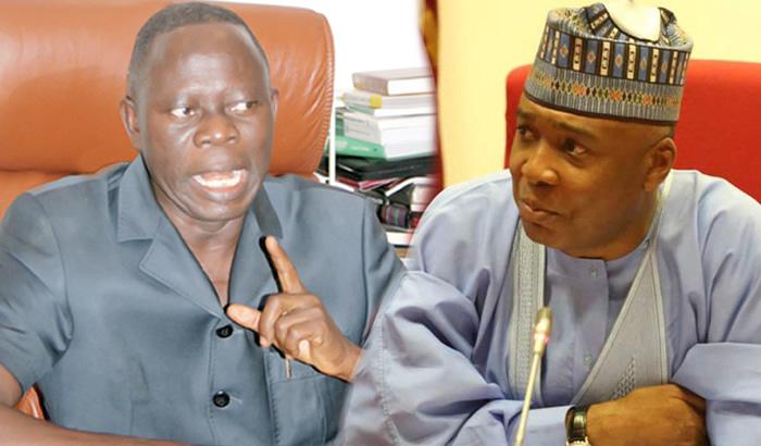 Saraki's allegations on NASS invasion unsubstantiated – Oshiomhole