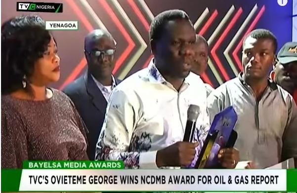 TVC's Ovieteme George wins NCDMB award for Oil & Gas report