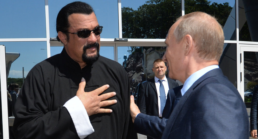 Hollywood actor Steven Seagal now Russian envoy