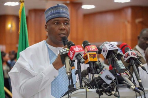 Saraki condemns DSS action, says Senate ready to reconvene over INEC