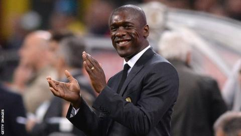 New Cameroon boss, Seedorf signs four-year deal
