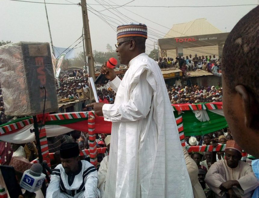 Lamido accuses APC of courting 'more corrupt' persons than PDP